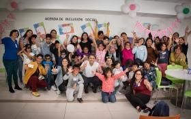 La actividad se realizó en las dependencias de Serviu Antofagasta junto a las familias del ex campamento y autoridades del Minvu.