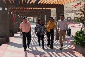 Directora de Serviu Región de Antofagasta, realizó una visita a las obras