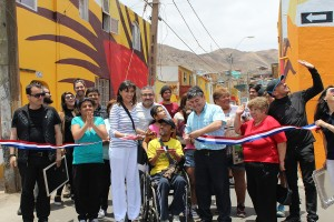 La iniciativa, liderada por el Servicio de Vivienda y Urbanización con el apoyo de CREO Antofagasta y Balmaceda Arte Joven junto el Gobierno Regional, se desarrolla a través de un modelo de gestión Público Privada y benefició a 270  viviendas de las pobla