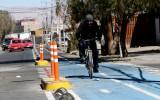 Las cifras arrojadas muestran un alza considerable en el uso de las Ciclorutas por los vecinos de la ciudad de Calama, lo que demuestra que el proyecto era necesario.