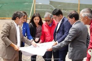 En la visita conocieron la realidad de los terrenos del proyecto habitacional Las Bandurrias y los avances del Conjunto Portal Miramar.