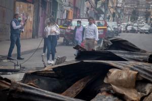 Rodrigo Saavedra, director de Serviu Antofagasta, realizando un recorrido por las calles de la ciudad-